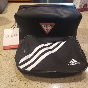 Brand new adidas and Guess los Angeles travel bag